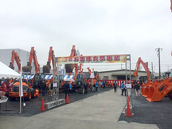 2015年関東TCM・日立建機日本「秋のお客様感謝祭」に伊藤商会ツカミーノシリーズ、ガラバスタシリーズ他参加