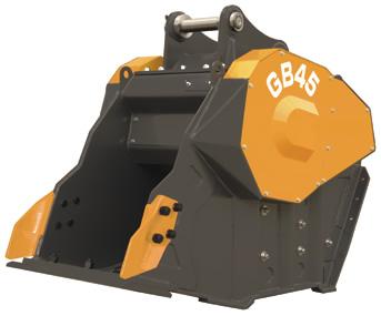 バケットクラッシャ「ガラバスタ」GB45