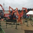 日立建機日本(株)茨城支店日立営業所にて開催された「ZAXIS-5Bシリーズ発表試乗会」にツカミーノシリーズ&ガラバスタシリーズ他出典いたしました。